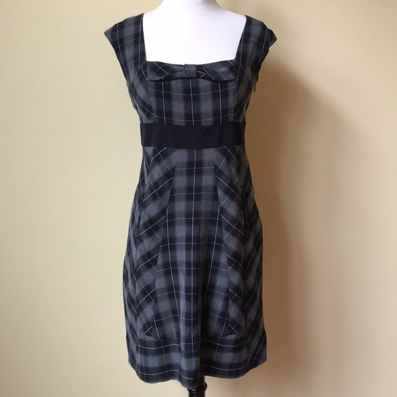 Anthropologie Dresses & Skirts - Anthropologie Moulinette Soeurs Plaid Bow Dress